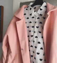 SNIŽENJE NOVI Rozi kaput/jaknica 💕