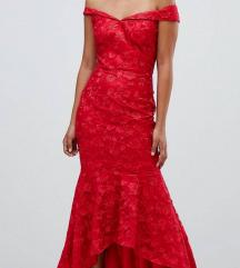 NOVA Asos Chi Chi uska crvena haljina