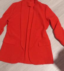 Crveni blazer M