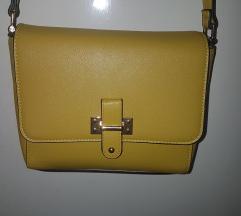 CARPISA žuta torbica