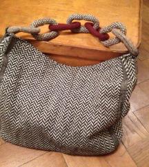 Zara shopper torba od tweeda