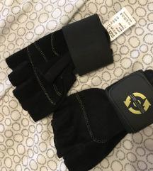 Muške fitness lifting rukavice L