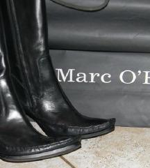 Marc O'Polo ORIGINAL crne kožne čizme 37
