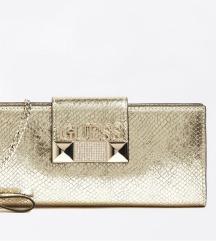 Original nova Guess torbica zlatna