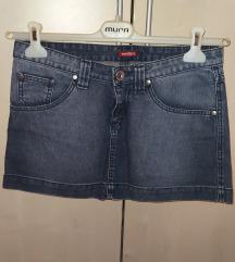 Mini traper suknja