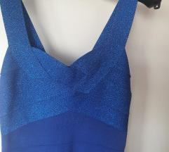 Bandage plava haljina