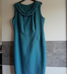 Modrozelena formalna haljina