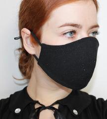 Maska za svečane prilike sa sitnim glitterom