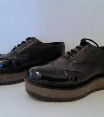 CREATOR crne cipele prava koža