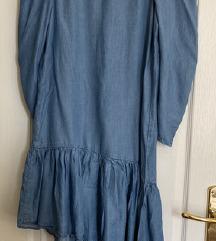 Zara jeans haljina POŠTARINA UKLJUČENA