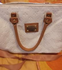 Bijela torba Louis Vuitton like