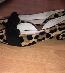 Kožne tigraste cipele