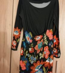 Desigual crna haljina XL 100 kn Rezervirano