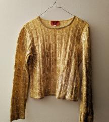 Kenzo zlatni džemper