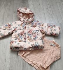 Zimska jakna + vestica