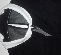 Crna prozirna košulja Clockhouse