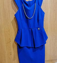 Haljina kraljevsko plave boje