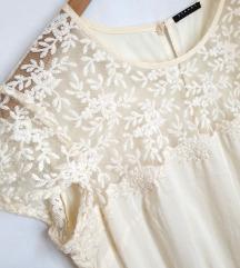 SISLEY bijela haljina 🎀