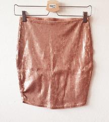 Rose gold suknja 🌸🌸🌸
