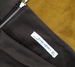 Zara smeđa suknja