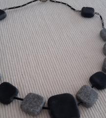 Ogrlica pečena glina