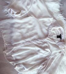 H&m prozirna bijela košulja - NOVO