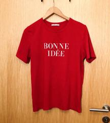 Zara majica s natpisom 38