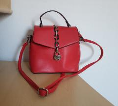 Nova torbica ili ruksak s etiketom