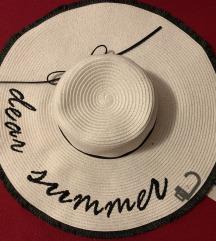 Slamnati ljetni šešir NOVO