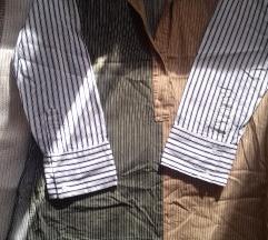 Zara oversized prugasta košulja