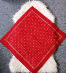 Crvena marama pamučna