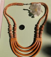 Vintage ogrlica od bambusa