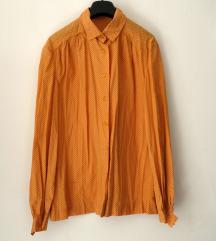 Vintage narandžasta košulja na točkice
