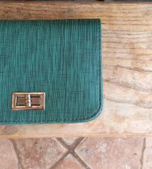 NOVA zeleno-plava torbica/novčanik