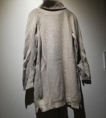 UNI Topla vunena vesta-haljina ili tunika