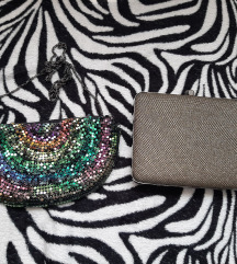 Lot svečane torbice Zara i Miss Selfridge