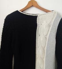 Retro pulover sa pletenicom