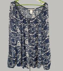 H&M XL šarena majica