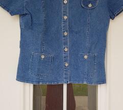 Plava jakna / košulja