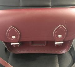 Cambridge Satchel kožna mini torbica