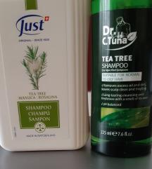JUST čajevac šampon za kosu sa poštarinom