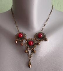 Ogrlica s vintage privjeskom