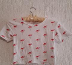 Flamingo crop top