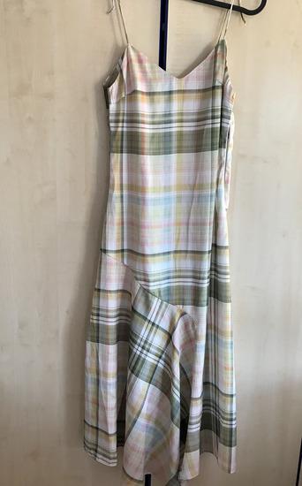 Zara karirana haljina