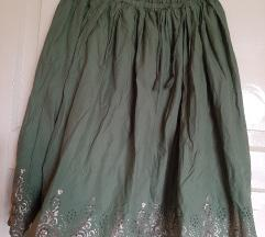 Gap zelena suknja XL made in India