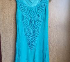 Twister tirkizna duga haljina