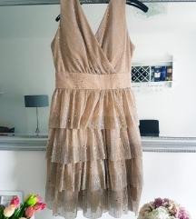 Zlatna haljina svečana
