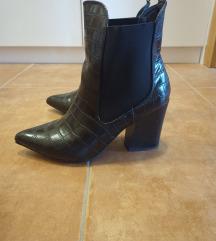 Zapatos crne gležnjače