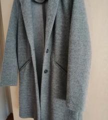 Sivi zara trf kaput