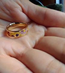 Šareni prsten od nehrđajućeg čelika